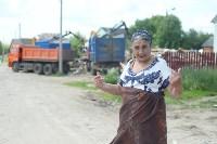 В Плеханово начали сносить дома в цыганском таборе, Фото: 19
