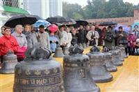 Торжественное освящение колоколов Успенского собора, Фото: 5
