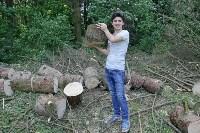 Эколого-трудовой отряд в Ясной Поляне, Фото: 7