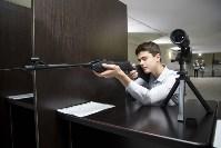В двух образовательных центрах начали работу стрелковые тиры, Фото: 8