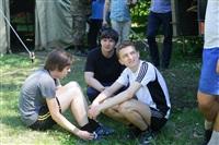 Тульский ОМОН провел боевую подготовку школьников, Фото: 12