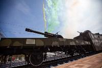Открытие монумента и бронепоезда на Московском вокзале. 8 мая 2015 года, Фото: 81