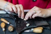 Тульская всечка: как мастерица создает уникальные украшения, Фото: 9