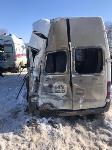 В Тульской области в ДТП с автобусом и маршруткой пострадали несколько человек, Фото: 5