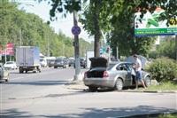 """В Туле водитель """"Пассата"""" въехал в пень, Фото: 7"""