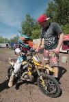 Юные мотоциклисты соревновались в мотокроссе в Новомосковске, Фото: 5