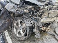 В серьезном ДТП на М-2 в Туле пострадали три человека, Фото: 16