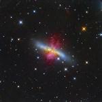 Галактика Сигара в созвездии Большой Медведицы. ФОТО: LEONARDO ORAZI, Фото: 3