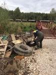 Очистка Щегловского ручья вдоль 1-ой Песчаной., Фото: 5