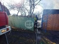 На Косой Горе в Туле пожар уничтожил дачу, Фото: 6