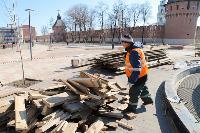 В Туле фонтаны готовят к открытию, Фото: 4