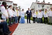 В Сочи губернатор Алексей Дюмин встретился с делегацией Тульской области, Фото: 5