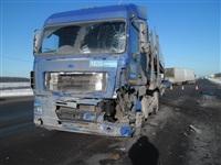 Автомобиль «скорой помощи» столкнулся с грузовиком, Фото: 3