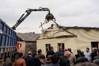 Снос дома в поселке Плеханово, Фото: 60