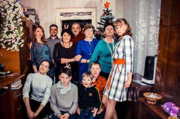 Малая часть большой семьи)