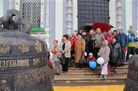 Торжественное освящение колоколов Успенского собора, Фото: 4