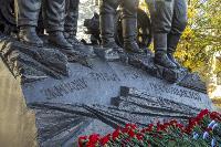 В Туле открыли памятник экипажу танка Т-34, Фото: 47