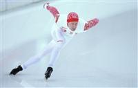 Игорь Боголюбский (Россия) во время пробных соревнований по конькобежному спорту перед началом XXII зимних Олимпийских игр в Сочи., Фото: 22