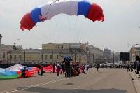 День Тульской дивизии ВДВ: на площади Ленина приземлились парашютисты, Фото: 98