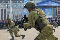 День Тульской дивизии ВДВ: на площади Ленина приземлились парашютисты, Фото: 63