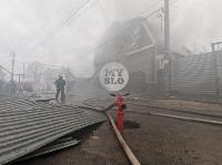 Пожар в Михалково, Фото: 17