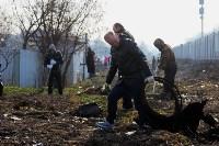 Генеральную уборку в Туле на Пролетарской набережной провели работники КБП, Фото: 8