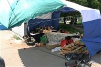 В Туле легковушка протаранила торговую палатку, Фото: 7