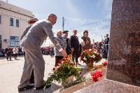 Открытие монумента и бронепоезда на Московском вокзале. 8 мая 2015 года, Фото: 66