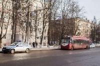 Бесхозный пакет в троллейбусе, Фото: 1