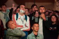 Как туляки поддерживали сборную России в матче с Бельгией, Фото: 12