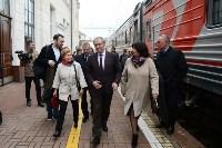 Встреча Валерия Гергиева на Московском вокзале в Туле, Фото: 23