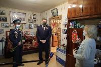 Алексей Дюмин поздравил ветеранов, Фото: 2