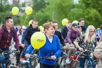 В Туле прошел большой велопарад, Фото: 150
