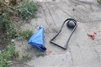 """В Туле """"Opel"""" перелетел бордюр и протаранил припаркованный """"Infiniti"""", Фото: 5"""
