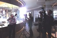 Канал «Russia Today» провёл съемки в Тульском музее оружия, Фото: 4