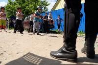В Плеханово начали сносить дома в цыганском таборе, Фото: 127