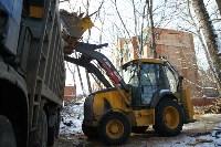 Снос дома на пересечении ул. Гоголевской и Свободы. 5.02.2015, Фото: 16