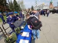 День Тульской дивизии ВДВ: на площади Ленина приземлились парашютисты, Фото: 112