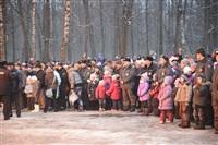 В ЦПКиО сожгли чучело зимы, Фото: 36
