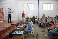 Юнармейцы проводят мастер-классы в оздоровительных лагерях Тульской области, Фото: 4