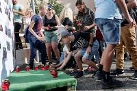 """Акция """"Боль и скорбь планеты"""" в Туле, Фото: 4"""