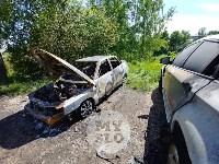 Цыганский конфликт в Туле: ночью подожжены четыре автомобиля, Фото: 7