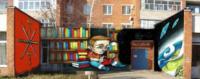 Тула, ул. М. Горького, 20. Библиотека №20. Евгений Дворников (Санкт-Петербург), Фото: 3