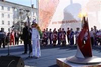 Эстафета Олимпийского огня. Новомосковск, Фото: 22