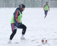 «Арсенал» готовится на снежном поле к игре против «Тосно», Фото: 27