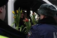 Полицейские поздравили автоледи с 8 Марта, Фото: 32