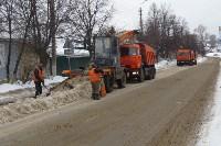 Сотрудники администрации Тулы проинспектировали уборку снега в городе, Фото: 3
