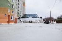 Машина вмерзла в лед, Фото: 3