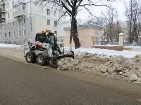 Уборка снега с улиц Тулы. 16 января 2016 года, Фото: 6