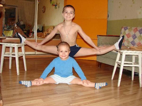 Мои любимые мальчики ))) Домашняя тренировка!